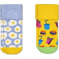 Happy Socks Strumpor 2-pack (Brunch Terry) (13-18)