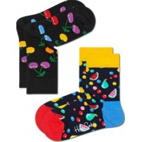 Happy Socks Strumpor 2-pack (Cherry)
