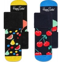 Happy Socks Strumpor 2-pack (Fruit Salad) (13-18)