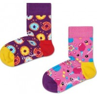 Happy Socks Strumpor 2-pack (Sweets)