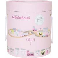 JaBaDaBaDo Bilbana med väg (rosa)