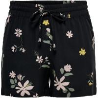 JDY Tryckta shorts (Svart)