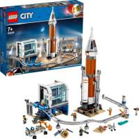 LEGO City Space Port 60228 - Rymdraket och uppskjutningskontroll