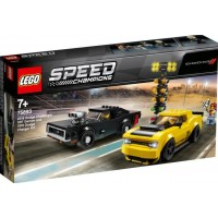 LEGO Speed Champions 75893 Dodge Challenger SRT Demon och 1970 Dodge Charger R/T
