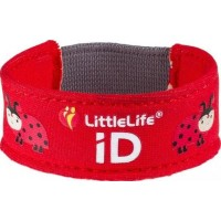 Littlelife Safety iD-armband (Nyckelpiga)