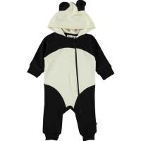 Molo Flossie Pandaoverall (Svart)