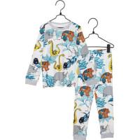 Mumin Djungel Tvådelad Pyjamas (Blå)