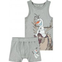 name it Frozen Olaf Boxer & linne (Grey melange)