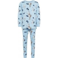 name it Frozen Tvådelad Pyjamas (Dusk Blue)