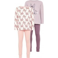 name it Lufie Pyjamas 2-pack (Sea Fog)