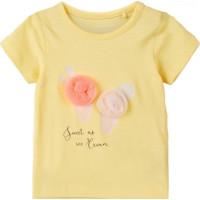 name it mini T-shirt Josa (Popcorn)