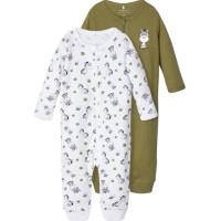name it Pyjamas Zip 2-pack (Loden Green)
