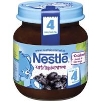 Nestlé Fruktpuré Katrinplommon 4M 125 g