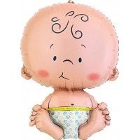 Partytajm Folieballong Baby