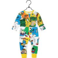 Pippi Långstrump Villekulla Pyjamas (Vit)