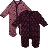 Pippi Pyjamas 2-pack (Lilac)