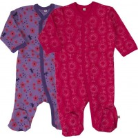 Pippi Pyjamas 2-pack (Rosa)