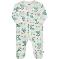 Pippi Pyjamas med fot (Marshmallow White)