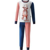 Reima Mumin Sömnig Tvådelad Pyjamas (Navy)