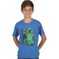 Minecraft Vintage Creeper Barn T-shirt