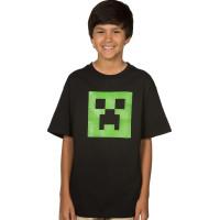 Minecraft Creeper Glow In The Dark Barn T-shirt