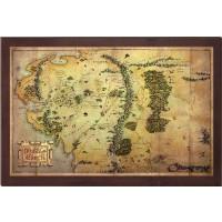 Karta över Middle-Earth