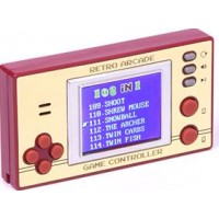 Bärbar Retro Arcade 100 spel