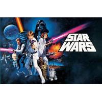 STAR WARS A NEW HOPE-LIGGANDES AFFISCH