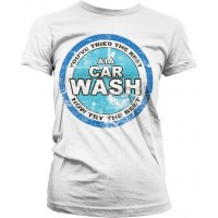 Breaking Bad A1A Car Wash Girly T-Shirt Vit