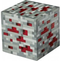 Minecraft Light-Up Redstone Ore - Lampa