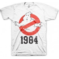 Ghostbusters 1984 T-Shirt Vit
