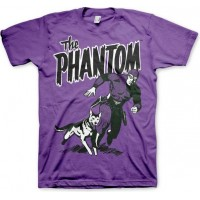 Fantomen & Devil T-shirt Lila