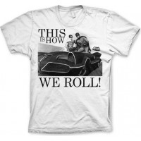 Batman This Is How We Roll T-Shirt Vit