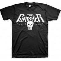 The Punisher Logo T-Shirt Svart