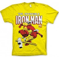 The Invincible Iron Man T-Shirt Gul