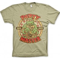 TMNT - Party Master Since 1984 T-Shirt Khaki