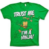 TMNT - Trust Me, I'm A Ninja T-Shirt! Grön