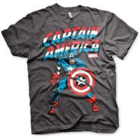 Captain America T-Shirt Mörkgrå