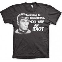 Star Trek - According To My Calculations T-Shirt