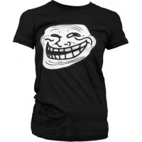 Trollface Girly T-Shirt