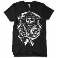 Sons of Anarchy - Scroll Reaper T-Shirt