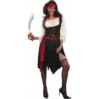 Pirate Girl Maskeraddräkt