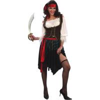 Pirate Girl Maskeraddräkt