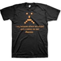 Big Bang Theory I Cry T-Shirt