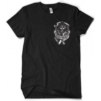 Sons Of Anarchy Backpatch T-Shirt