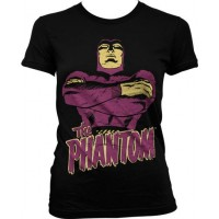 Fantomen Dam Svart T-Shirt