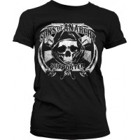 Sons Of Anarchy SOA Supporter Girly T-Shirt