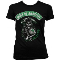Sons Of Anarchy Ireland Girly T-Shirt
