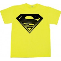 Superman Halftone Shield T-Shirt