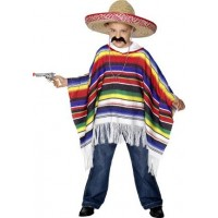 Poncho Maskeraddräkt Barn